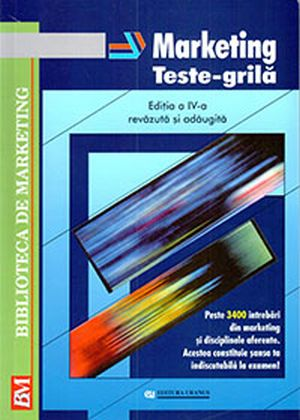 Marketing. Teste Grila editia IV